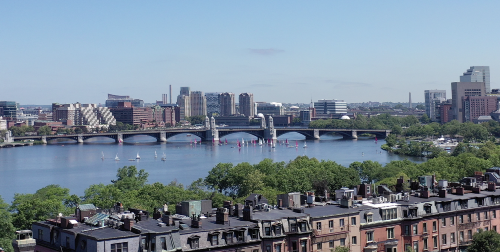 View of Boston from 318 Dartmouth Street