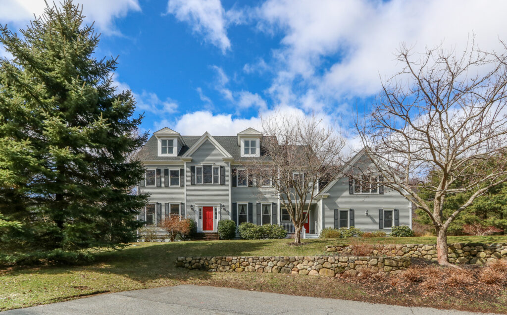 Front exterior photograph of 5 Noannet Circle in Westwood MA