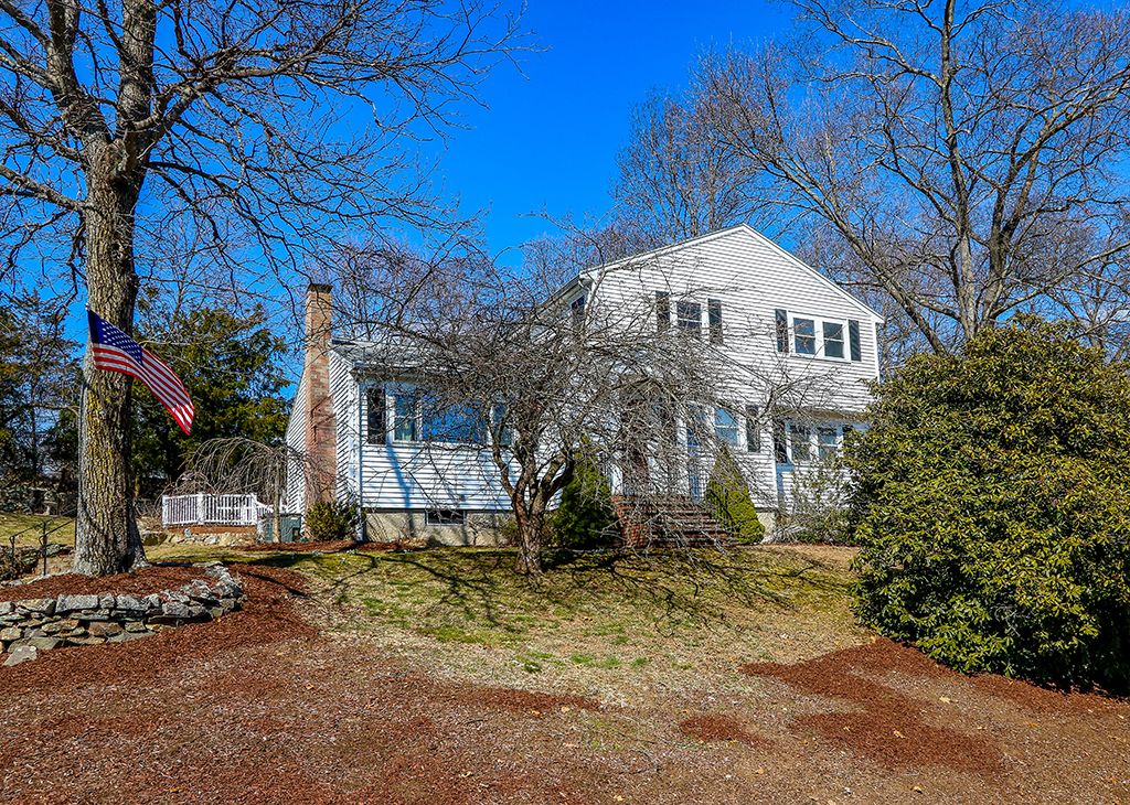Front Exterior Photograph of 12 Ash Road, Norwood MA